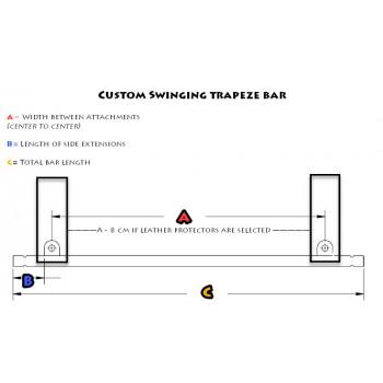Barre pour Trapeze Ballant / Dimensions Sur Mesure
