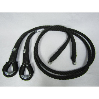 Ropes for any Aerial Trapeze / 3 m / Black (Pair)
