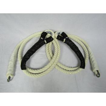 Cordes pour tous trapèzes / 3 mètres /  ÉCRU (Pair)