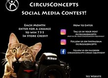 CircusConcepts Social Media Contest!