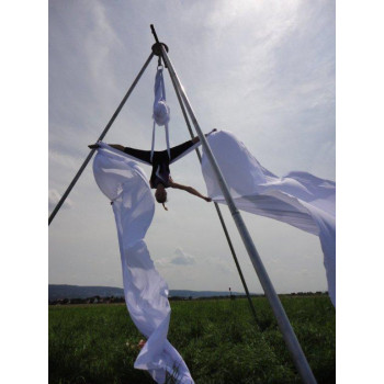 Freestanding Aerial Rig Structure ACHILLE ( Tripod ) 20 in  by CircusConcepts